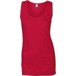GI64200L - Softstyle® Fitted Ladies' Tank Top wit