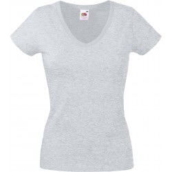 SC61398 - Lady-fit Valueweight V-neck T wit