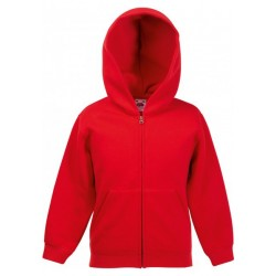 SC62045 - Kids Classic Hooded Sweat Jacket zwart
