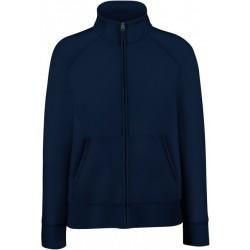 SC62116 - Lady-Fit Premium Hooded Sweat Jacket zwart