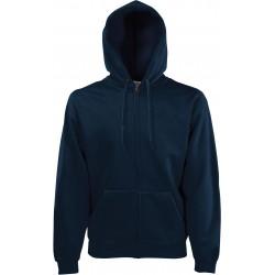 SC62062 - Classic Hooded Sweat Jacket zwart