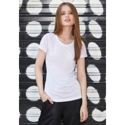 "CGTW063 - Sublimation ""Cotton-feel"" TEE / Woman B&C"