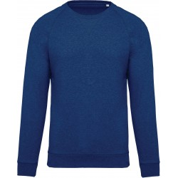 K480 - Herensweater BIO ocean blue heather