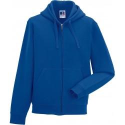 RU266M - Zip Hooded bright royal blue