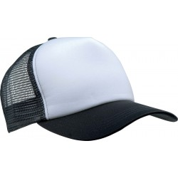 KP111 - Trucker white - black