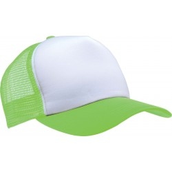 KP111 - Trucker white - lime