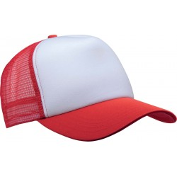 KP111 - Trucker white - red