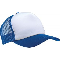 KP111 - Trucker white - royal blue