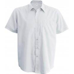 K520 - Kinder poplin overhemd wit