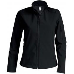 K400 - Dames softshell jas zwart