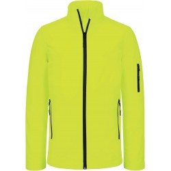 K400 - Dames softshell jas fluo geel