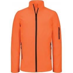 K400 - Dames softshell jas fluo oranje