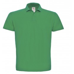 Polo B&C I.D. kelly green