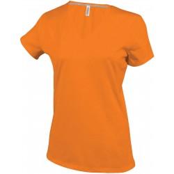 K381 - Dames V-hals orange