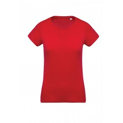 K391 Bio t-shirt dames red