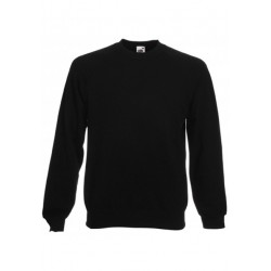 SC4 - Classic Raglan Sweat (62-216-0) FRUIT OF THE LOOM zwart