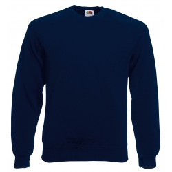 SC4 - Classic Raglan Sweat (62-216-0) FRUIT OF THE LOOM deep navy