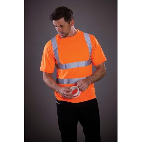 YHVJ410 - Signalisatie T-shirt met korte mouwen