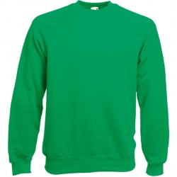 SC4 - Classic Raglan Sweat (62-216-0) FRUIT OF THE LOOM kelly green