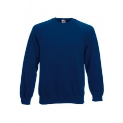 SC4 - Classic Raglan Sweat (62-216-0) FRUIT OF THE LOOM navy