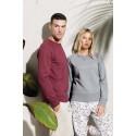 Herensweater BIO ronde hals raglanmouwen -35%